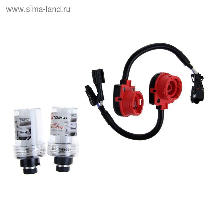 Комплект ксеноновых ламп TORSO D2R, 12 В, для блоков AC, 4300 К, 2 шт.