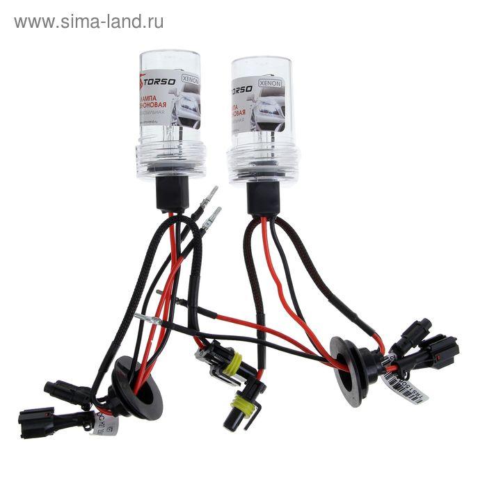 Комплект ксеноновых ламп TORSO H27(880/881), для блоков DC, 12 В, 5000 К, 2 шт.