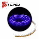 Светодиодная линейка TORSO, автомобильная, 96LED, 96 см, 12 В, IP68, свет синий