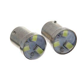 Комплект светодиодных ламп TORSO P21/W, 12 В, 3 SMD-5630, 2 шт., свет белый