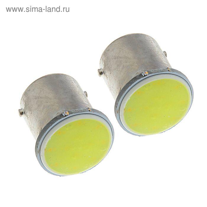 Автолампа светодиодная TORSO P21/W, 12 В, 1 LED-COB, 2 шт. свет белый