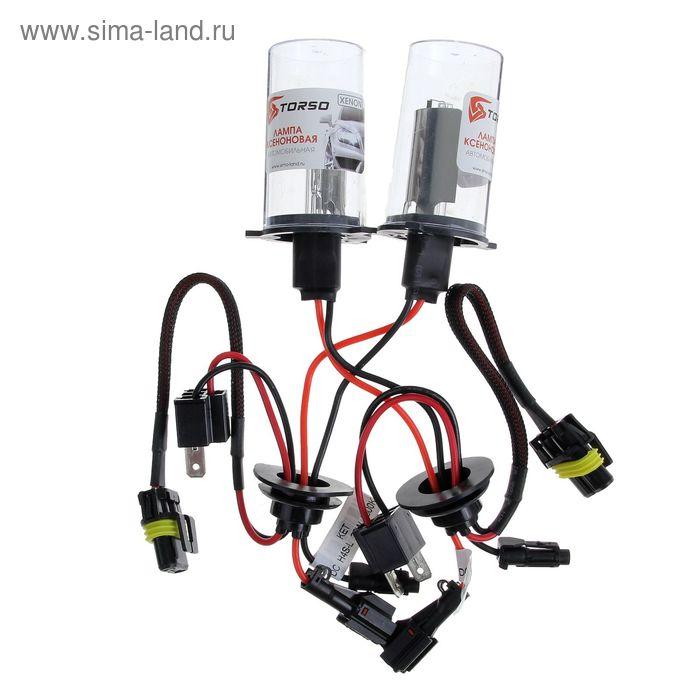 Комплект ксеноновых ламп TORSO H4S-L, для блоков DC, 12 В, 5000 К, 2 шт.