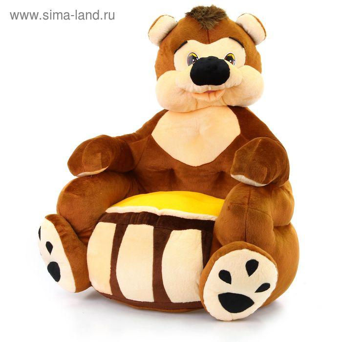 Мягкая игрушка-кресло «Сладкоежка»