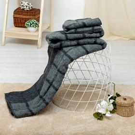 """Одеяло шерстяное """"Эконом"""" 140х205 см, 75% шерсть, 25% п/э, 400 гр/м2, оверлок"""