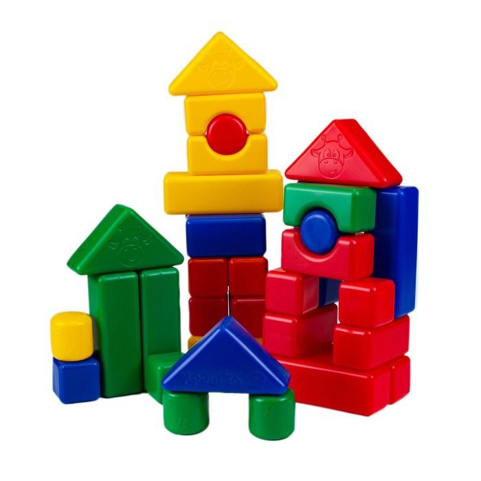 Строительный набор, 38 элементов 4 х 4 см