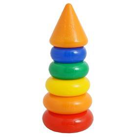 Пирамидка 5 колец, с конусом