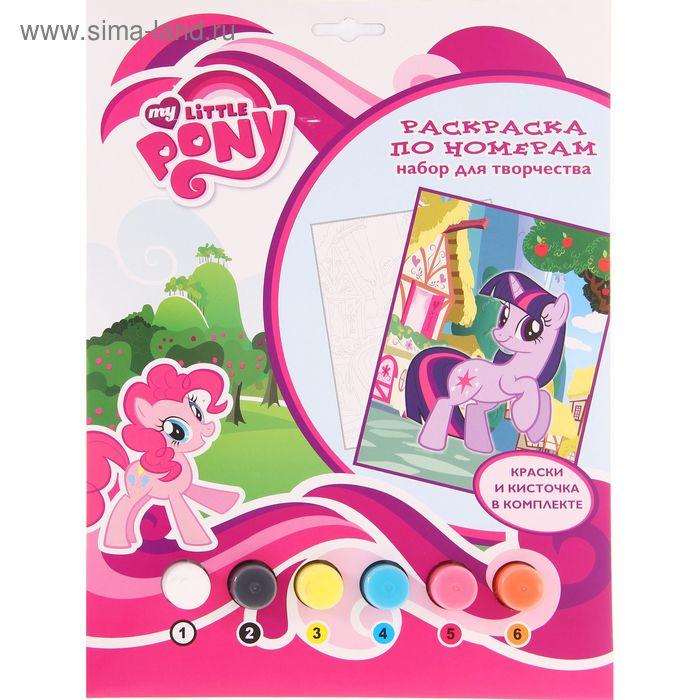 Раскраска по номерам My little Pony