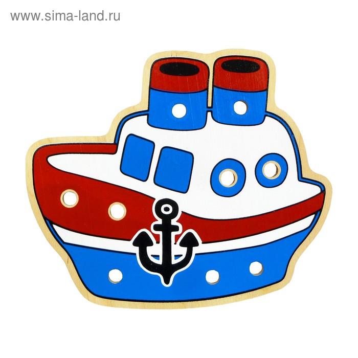 """Шнуровка """"Кораблик"""""""