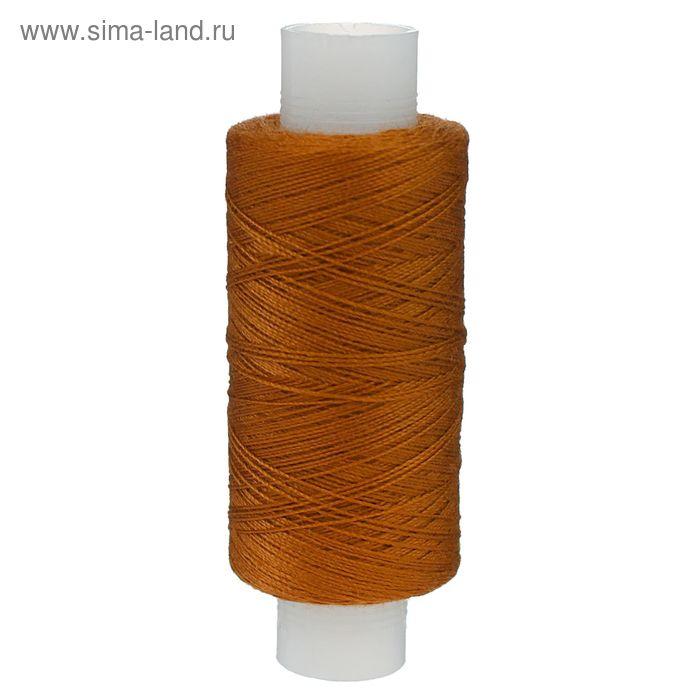 Нитки 40ЛШ 200 м, №96, цвет золотисто-коричневый