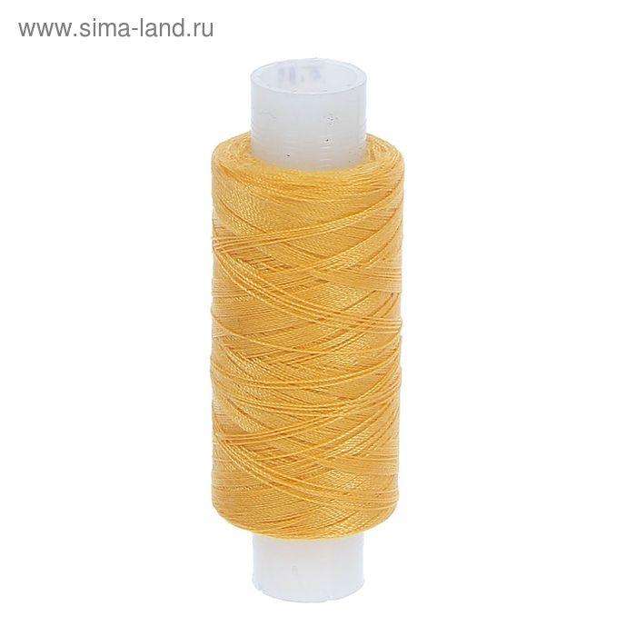 Нитки 35ЛЛ 200м, цвет жёлтый (№127)