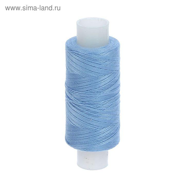 Нитки 40ЛШ, 200м, №153, цвет голубой
