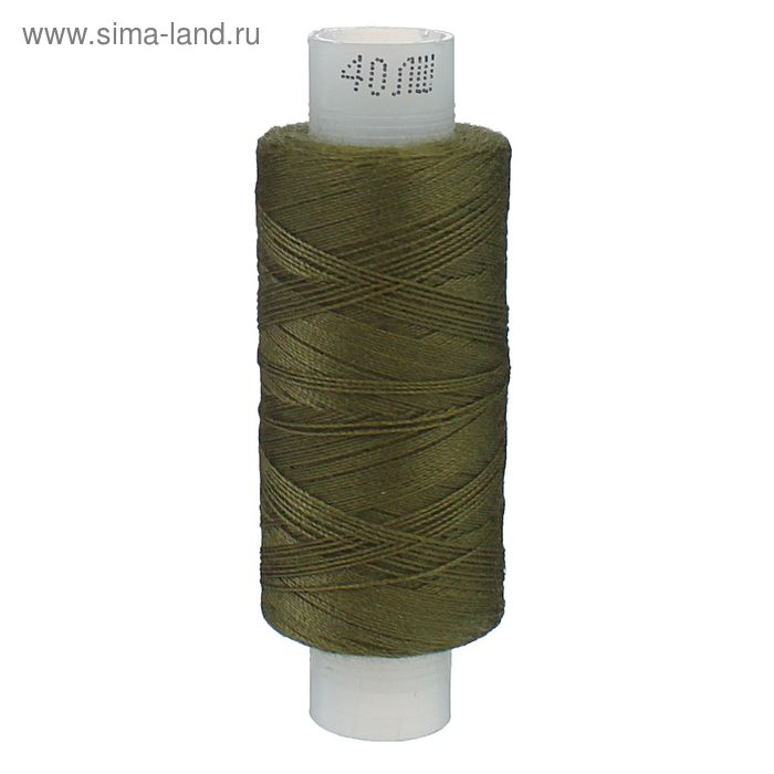 Нитки 40ЛШ 200 м, №176, цвет светло-болотный
