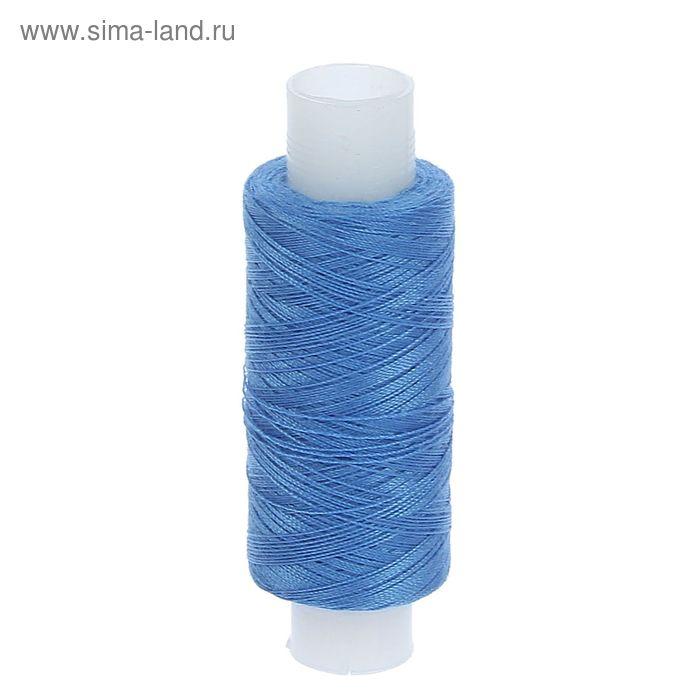 Нитки 35ЛЛ 200м, цвет светло-синий (№157)