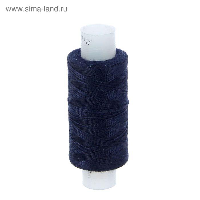 Нитки 40ЛШ, 200м, №584, цвет темно-синий
