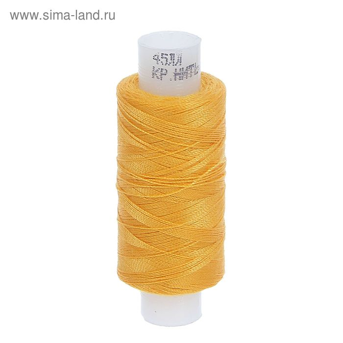 Нитки 45ЛЛ 200м, цвет жёлтый (№126)
