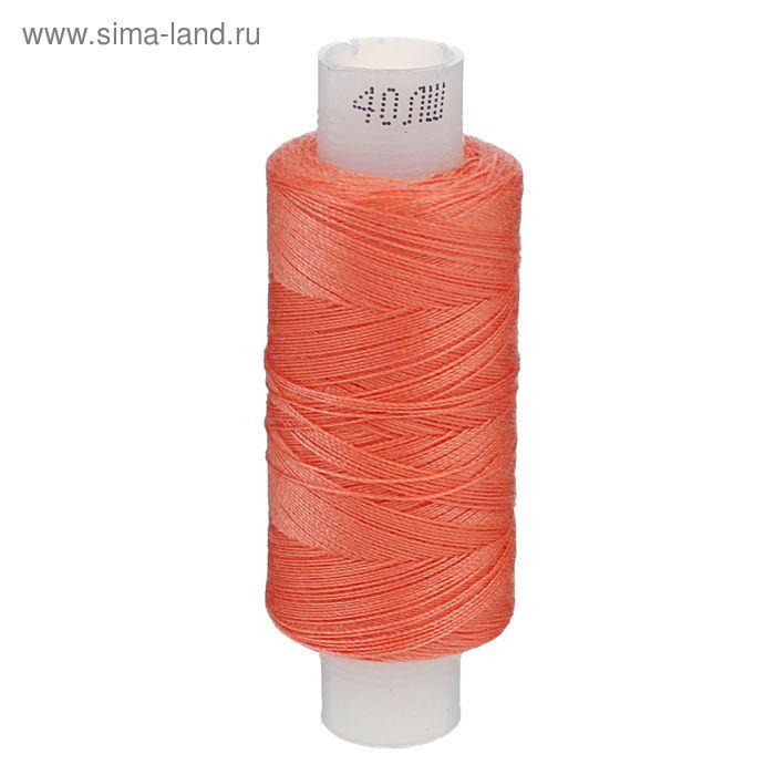Нитки 40ЛШ, 200м, №15, цвет неон розовый