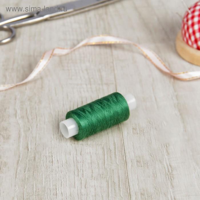 Нитки 40ЛШ 200 м, №86, цвет зелёный
