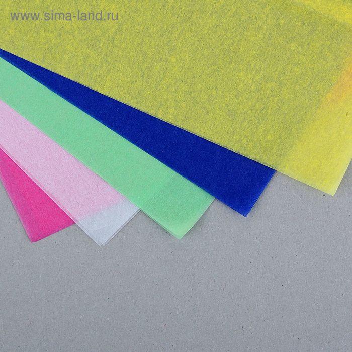 Бумага тишью (набор 10 листов), цвета ассорти