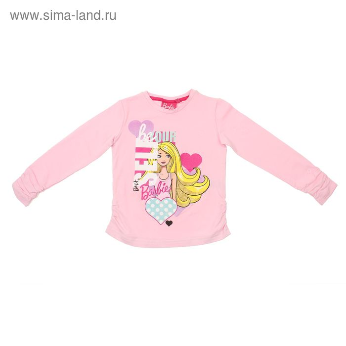 """Джемпер для девочки """"Barbie"""", рост 116 см (64),  цвет розовый ZG 03559-P1_Д"""