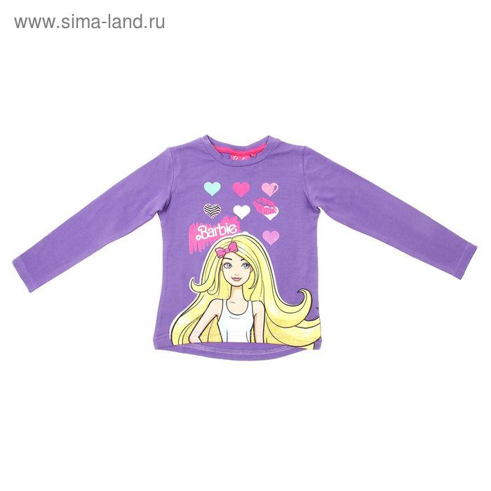 """Джемпер для девочки """"Barbie"""", рост 104 см (60), цвет фиолетовый ZG 03562-D1_Д"""