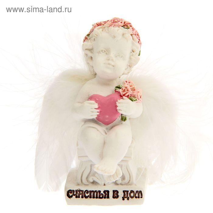 """Фигурка ангел """"Счастья в дом"""""""