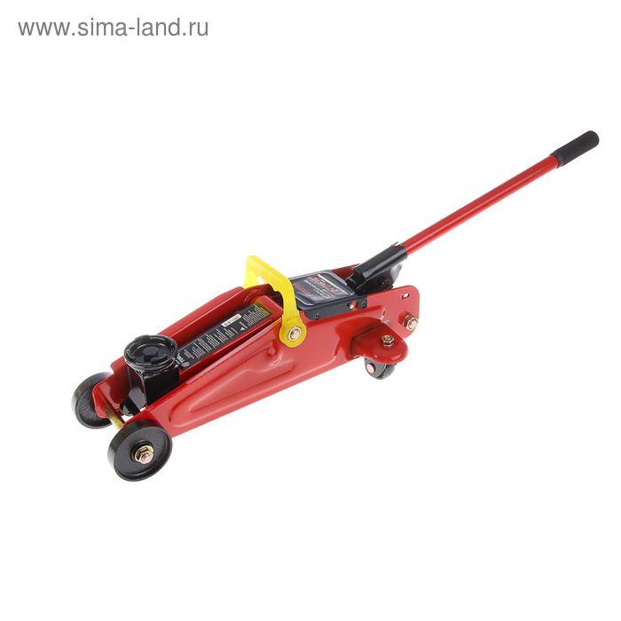 Домкрат гидравлический подкатной TUNDRA basic, 2 т, высота подъема 125-310 мм