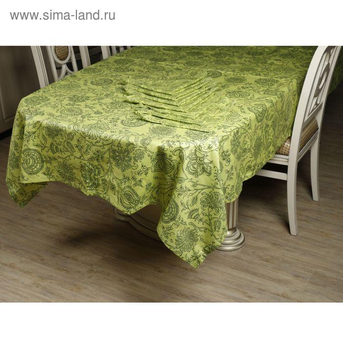 Набор столовый: скатерть 180х144 см, салфетки 40х40 см-8 шт., пропитка ВМГО