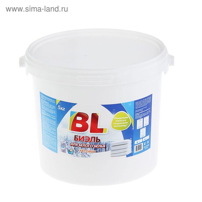 Стиральный порошок BL (БиЭль) для белого белья автомат 5кг
