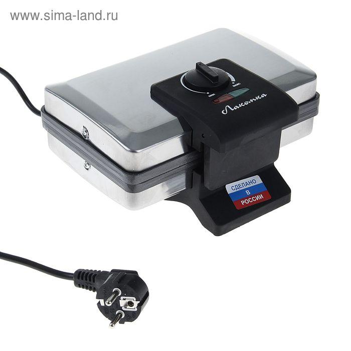 Прибор для приготовления котлет «Лакомка» ЭК-1, 1000 Вт, тефлоновое покрытие