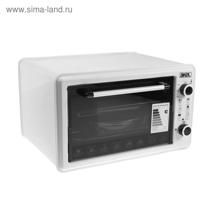 Электрическая духовка Akel AF-720, 36 л, 1300 Вт, белая
