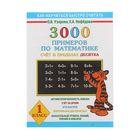 3000 примеров по математике. Счёт в пределах десятка. 1 класс.
