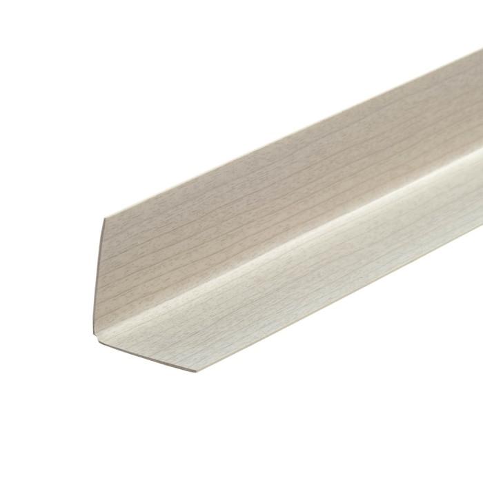 Уголок 30*30 2,7м серый ясень (двухстор)