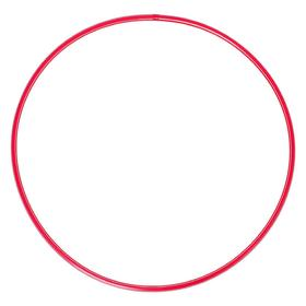 Обруч диаметр 80 см, цвет красный
