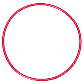 Обруч диаметр 60 см, цвет красный