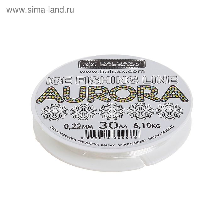 Леска aurora 0.22 30м