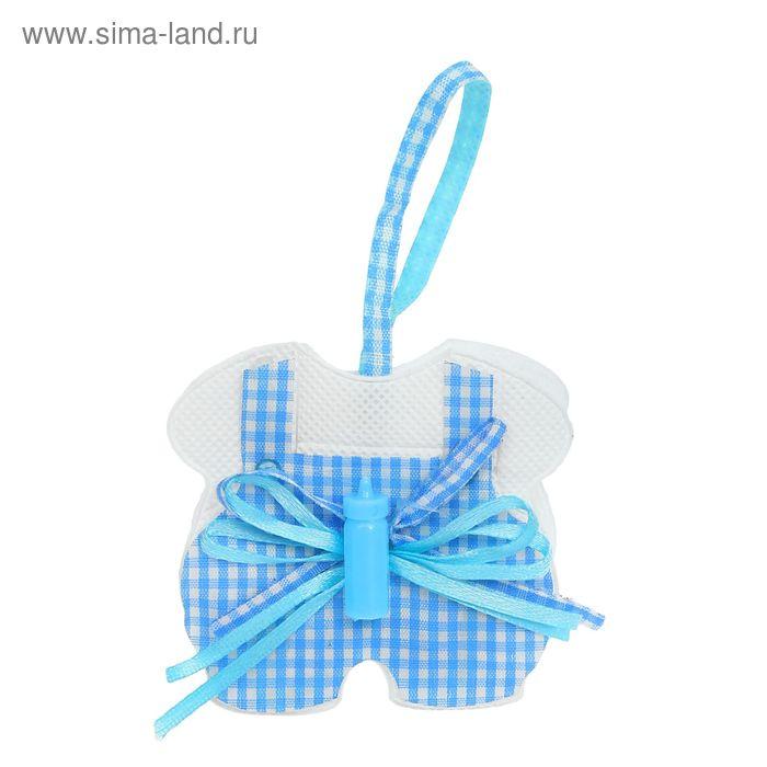 """Бонбоньерка """"Сумочка"""" в штанишках, цвет голубой"""