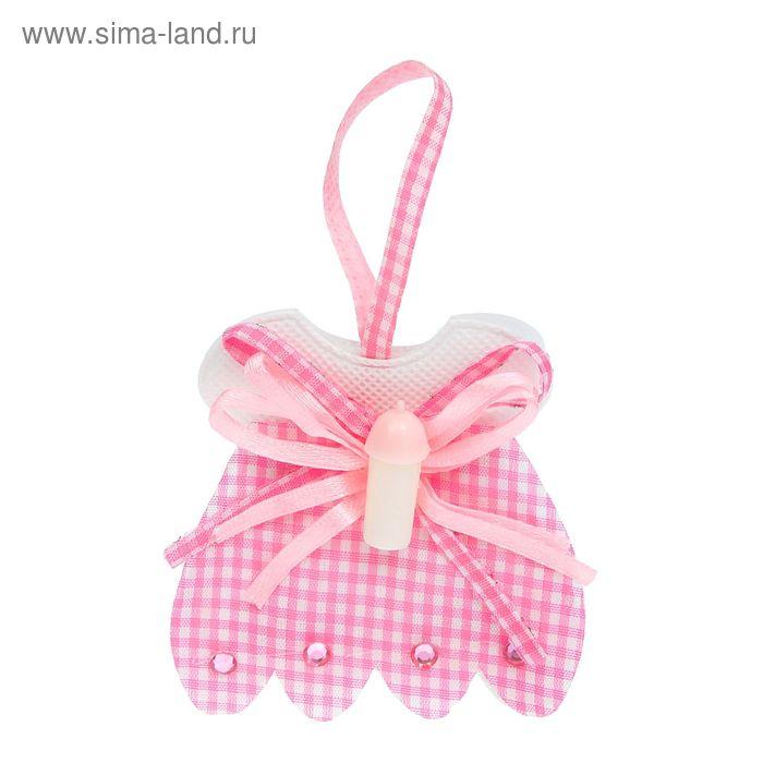 """Бонбоньерка """"Сумочка"""" в юбочке, цвет розовый"""