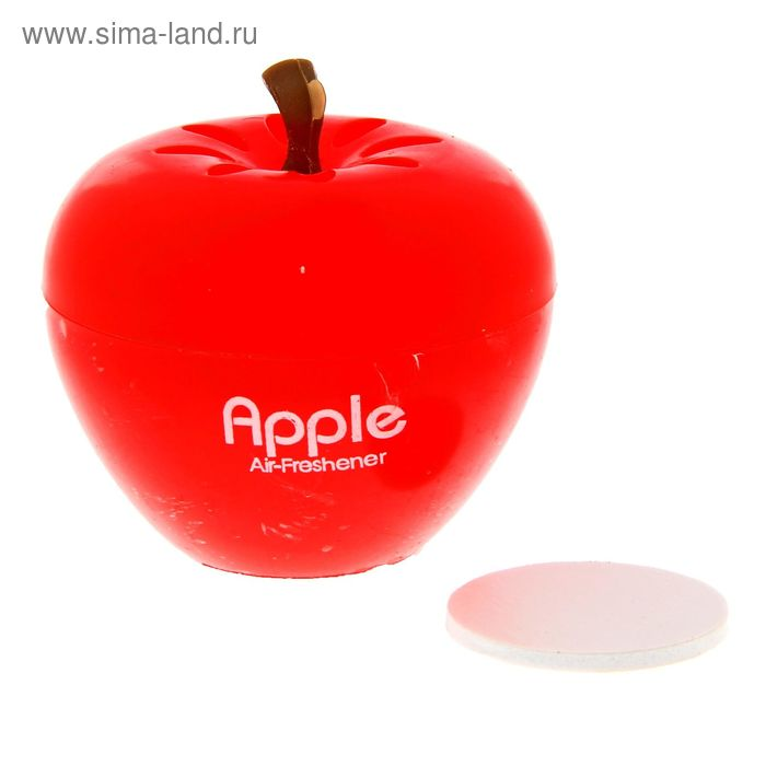 Ароматизатор в авто яблоко, аромат клубники