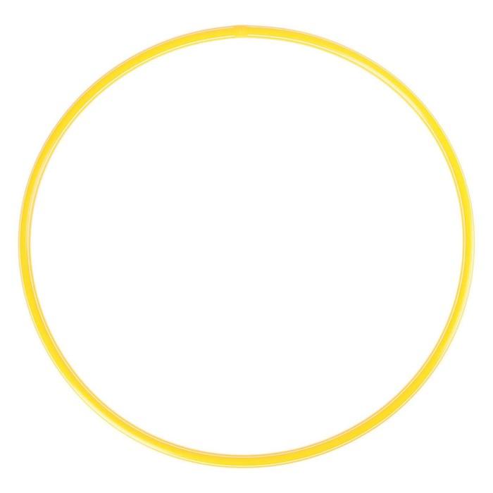 Обруч диаметр 90 см, цвет жёлтый