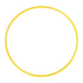 Обруч диаметр 70 см, цвет жёлтый