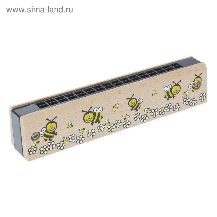 """Игрушка музыкальная Губная гармошка """"Пчелки"""""""