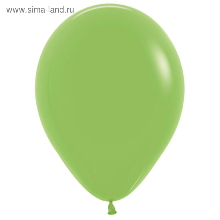 """Шар латексный 10"""", пастель, набор 100 шт., цвет светло-зелёный"""