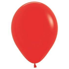 """Шар латексный 10"""", пастель, набор 100 шт., цвет красный"""