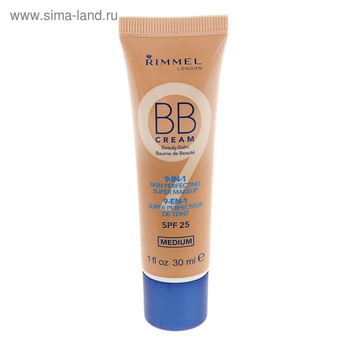 BB крем Rimmel 9-в-1, улучшающий цвет лица, SPF 25,  тон 002
