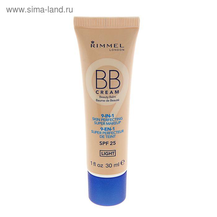 BB крем Rimmel 9-в-1, улучшающий цвет лица, SPF 25,  тон 001