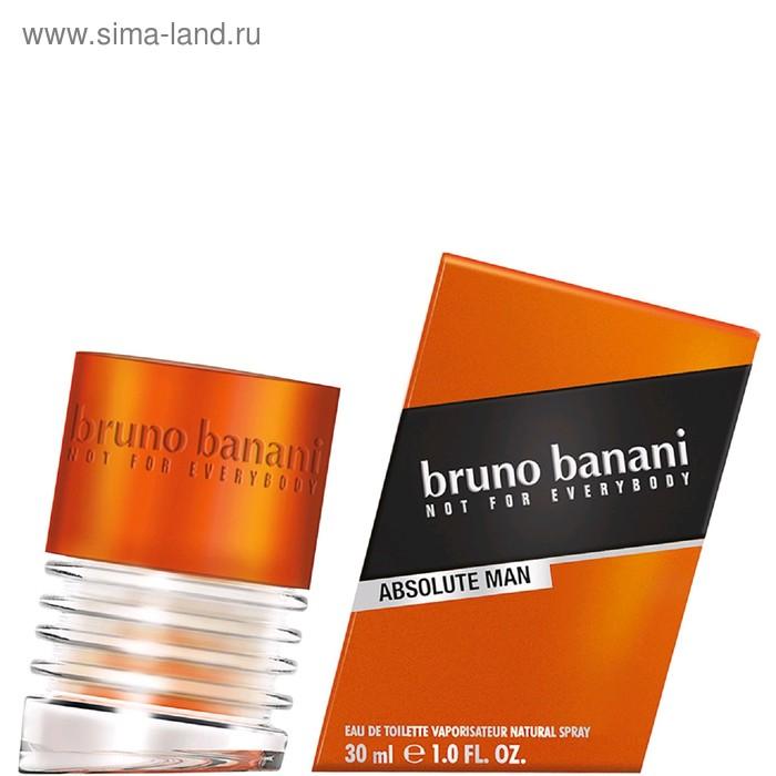 Туалетная вода Bruno Banani Absolute man, 30 мл