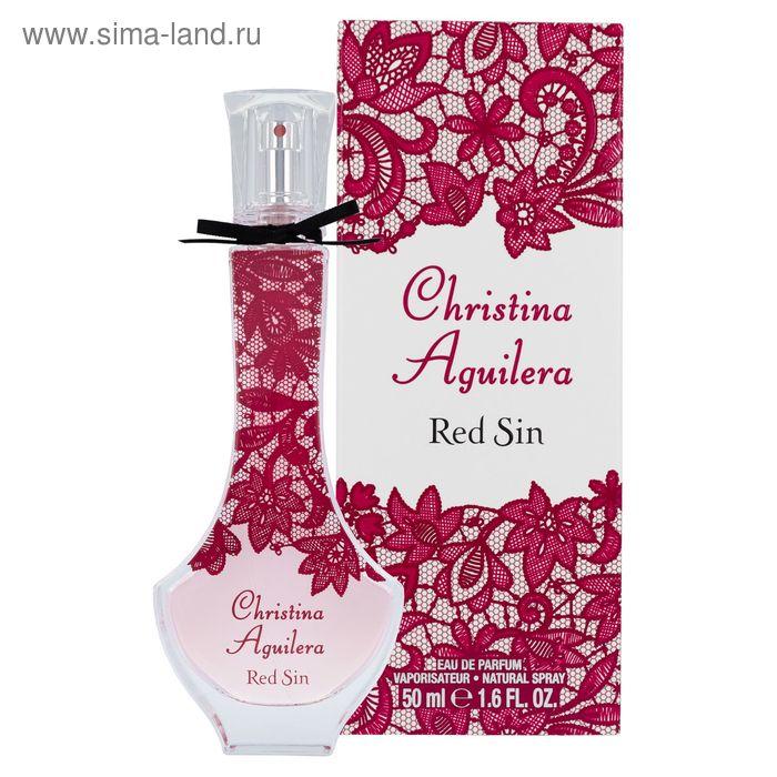 Парфюмированная вода Christina Aguilera Red Sin, 50 мл