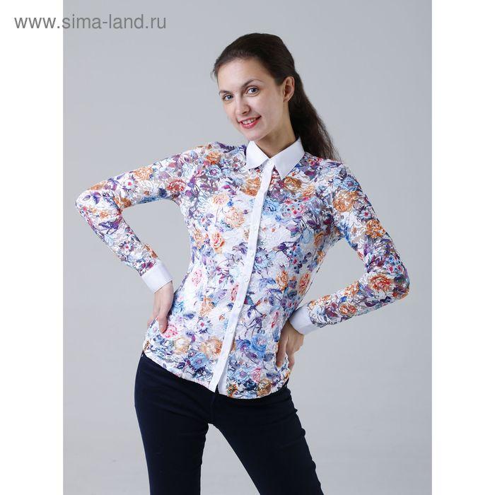 Комплект женский (рубашка+майка) 905-13288L, размер 52, цвет белый