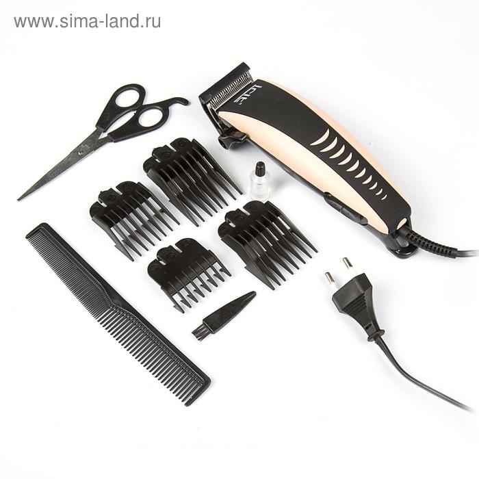 Машинка для стрижки волос Irit IR-3307, 4 уровня стрижки, 10 Вт, электрическая