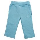 Брюки для мальчика, рост 74-80 см (26), цвет бирюза 476Б-461